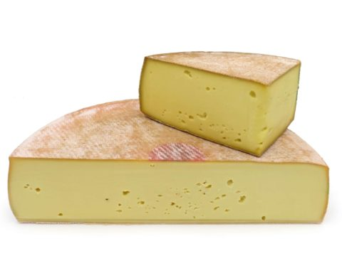 Raclette du Jura - tranchée