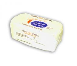 Beurre cru aux grains de sel
