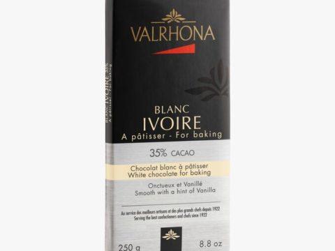 Chocolat blanc Ivoire à pâtisser Valrhona