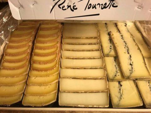 Plateau de fromages à Raclette